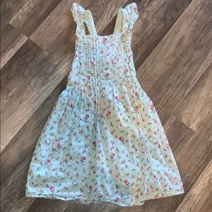 Girls Gap Floral Dress Size L
